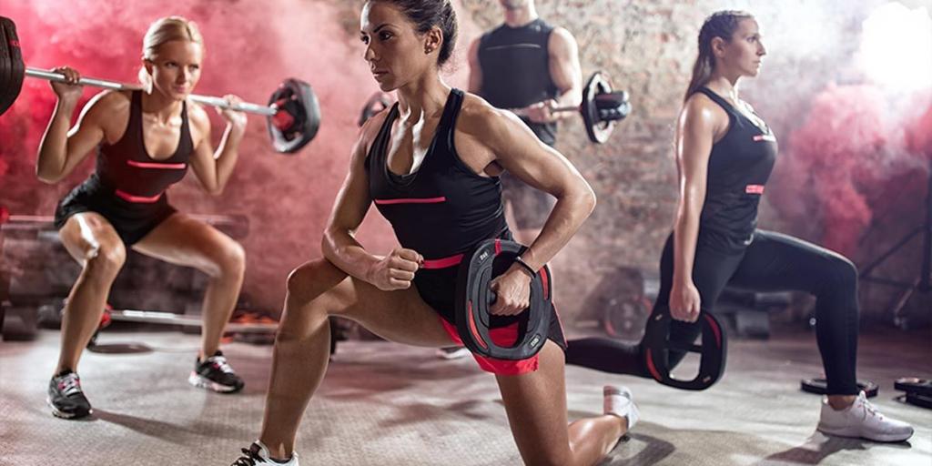 Групповые силовые тренировки в фитнес-центре Эксселент в удобное время